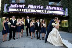Find out why The Silent Movie Theater is my favorite Los Angeles wedding venue | Offbeat Bride -repinned from LA wedding officiant http://www.OfficiantGuy.com