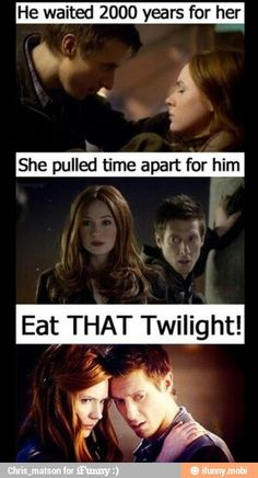 suck that twilight but if you do... well you won't because the whovian army will stop you