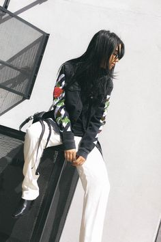How to Style Track Pants - Tania Sarin