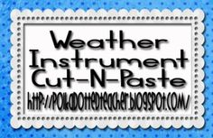 Weather Instrument Cut-N-Paste