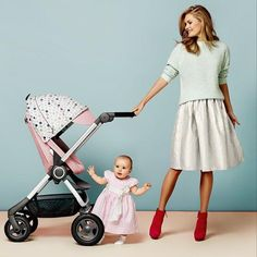 Looking for a pink baby stroller? Check out Stokke Scoot –All new patterns & colors for 2015