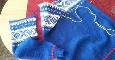 Det kjedeligste arbeidet med å strikke genser er å montere den, syns nå jeg! Men når man først kommer i gang med arbeidet er det ganske r...