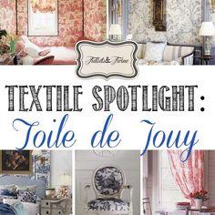 TIDBITS & TWINE: Textile Spotlight - Timeless Toile