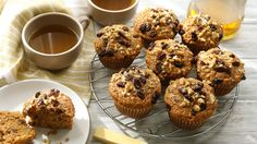 Glory may be a big goal for the morning, but it is attainable These nourishing muffins are packed with vegetables, fruit, nuts and coconut to keep everyone singing your praises well past breakfast A bit of spice, brown sugar and whole-wheat flour round out the flavor and make them irresistible