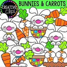 Browse over educational resources created by Krista Wallden - Creative Clips in the official Teachers Pay Teachers store. Easter Egg Coloring Pages, Spring Coloring Pages, Art Clipart, Planner Stickers, Adobe Illustrator, Cliparts Free, Funky Fonts, Vintage Camper, Fall Clip Art