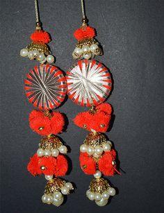 Handmade Tribal Gypsy Cotton decorative tassels, decorating supplies and Bells Tassel / Pom Pom / Camel swag / Embellishment/