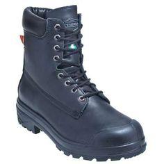 Terra men s and women s black metatarsal guards 8988b in Men Steel Toe Boots