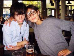 glasses and boyfriend