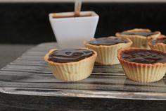 Tarteletes de Chocolate e Caramelo Salgado