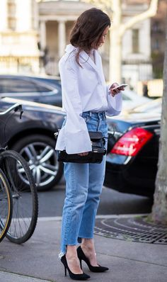 This mom jean styling tip is the most flattering to date. Find out what it is while shopping the styles we love most.