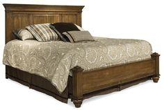 Panel Bed - Cupola  #MadeInCanada #SolidWood stouffvillefinefurniture.com