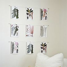Come see how to make this wire art display for around $10 including the free vintage botanical prints!