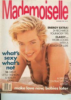 December 1989 cover with Tatjana Patitz
