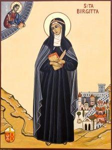 Saint Birgitta of Sweden | Birgitta of Vadstena, Saint Birgitta (Swedish: den heliga Birgitta ...