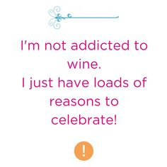 And it's definitely not a celebration without some quality vino!!  #weekendwine
