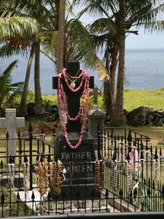 Molokai, Hawaii - Kalaupapa - St. Damien's Tomb