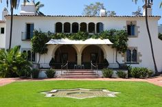 Casa de Herrero (Home of the Blacksmith) in Montecito