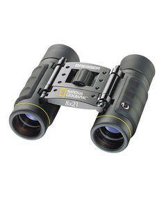 This Nat Geo 8'' x 21'' Foldable Roof-Prism Binoculars is perfect! #zulilyfinds