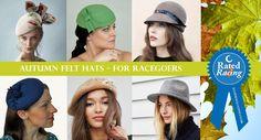 Felt Hats for Autumn #Racing http://eclipsemagazine.co.uk/felt-hats-autumn-racing/?utm_content=buffer9df4f&utm_medium=social&utm_source=pinterest.com&utm_campaign=buffer #Fashion #Millinery #Rated4Racing