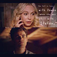 "#TVD 6x02 ""Yellow Ledbetter"" - Caroline and Stefan"