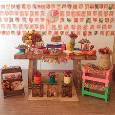ideias de cantinho para foto em festa junina - Pesquisa Google