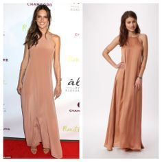 Shop the Look! ále by Alessandra Dream Catcher Silk Maxi Dress @Planet Blue