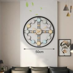 Bordstid - Modern Clock | The Fancy Place Wall Clock Luxury, 3d Wall Clock, Best Wall Clocks, Metal Clock, Rustic Wall Clocks, Rustic Walls, Modern Clock, Modern Wall, How To Make Wall Clock