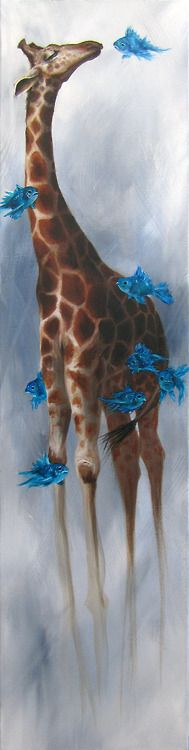 Mallory Hart.  Giraffe people tend to be practical but creative thinkers, often coming up with novel, integrative ideas. They also tend to be strongly community-minded, and very protective of the people who often come to look up to them for their reliable nature.  Foresight and vision. The ability to see the big picture while remaining firmly grounded in the reality of the physical world.