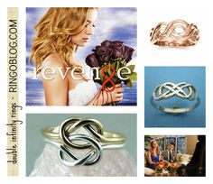 Revenge - Emily Thorne - Double Infinity Rings and jewelry. #REVENGE on ABC! Via RingOBlog.com