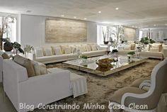 Construindo Minha Casa Clean: Mesas de Centro Espelhadas!!! Maravilhosas!
