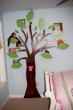 Maybe another tree bookshelf like the one in Molly's room? A new design?