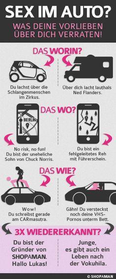 How to: Sex im Auto http://www.shopaman.de/blog/darkroom/autosex