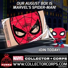 Augusts Marvel Collector Corps Theme Revealed