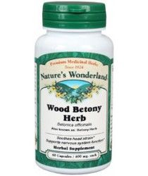 wood betony supplement | wood betony tablets | wood betony capsules