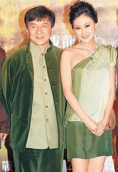 JACKIE CHAN AND WIFE