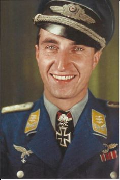 """Major Walter """"Nowi"""" Nowotny (7 Dec 1920 – 8 Nov 1944) was an Austrian-born German fighter ace of WWII credited with 258 aerial victories—that is, 258 aerial combat encounters resulting in the destruction of the enemy aircraft—in 442 combat missions. Nowotny achieved 255 of these victories on the Eastern Front and three while flying one of the first jet fighters, the Me 262, in the Defense of the Reich. He scored most of his victories in the Focke-Wulf Fw 190, and approximately 50 in the Me…"""