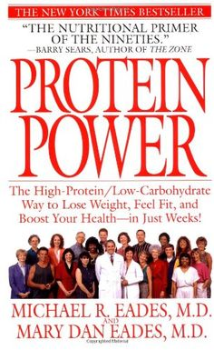 Protein Power: The High-Protein/Low-Carbohydrate Way to Lose Weight, Feel Fit, and Boost Your Health--in Just Weeks! by Michael R. Eades,http://www.amazon.com/dp/0553380788/ref=cm_sw_r_pi_dp_0kevsb116ACJ8GDN