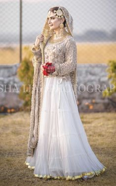 Inbox us to order ✉📬 Contact 📞 📞☎ (WhatsApp ) Can be made in any Color Size Asian Wedding Dress Pakistani, Pakistani Bridal Makeup, Bridal Mehndi Dresses, Nikkah Dress, Pakistani Formal Dresses, Shadi Dresses, Bridal Outfits, Pakistani Outfits, Indian Dresses
