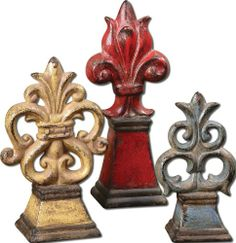 Uttermost 12.5H in. Uttermost Esa Tabletop Decor - Set of 3 Uttermost,http://www.amazon.com/dp/B007YEF08W/ref=cm_sw_r_pi_dp_nGastb02EV87P2XE