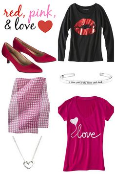 On Trend: Red, Pink, & Love   Style On Target