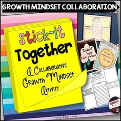 Growth MindsetThis resource is a collaborative growth mindset activity for small groups in your classroom.  Each page contains a different question about growth mindset (specifically, what students can say instead of fixed mindset phrases), spaces for them to include their individual answers (on sticky notes), a space for them to collaboratively build their best answer using the individual responses, and success criteria to follow.