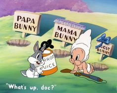 "If a consummate history exists revealing the epic battle between Bugs Bunny and Elmer Fudd, director Bob Clampett has encapsulated it brilliantly in the 1944 classic ""The Old Grey Hare."" Heralded as one of the greatest Bugs Bunny cartoons ever produced. Bugs Bunny Cartoons, Looney Tunes Cartoons, Mickey Mouse Doll, Foghorn Leghorn, Funny Blogs, Elmer Fudd, Pepe Le Pew, Yosemite Sam, Warner Bros Studios"