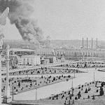 Grant Williams, a civil engineer, turned Atlanta's 1887 Piedmont Exposition grounds into a larger venue to accomodate the more ambitious 1895 Cotton States and International Exposition. Williams's plan included twenty-five buildings, a lake, fountains, and statuary.