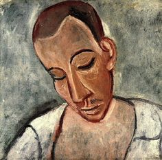 Pablo Picasso - Bust of Marin, 1907