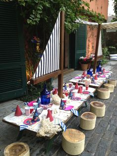 Nautical kids party