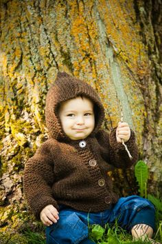 Babies in Brown - Kids at Heart  by Marcia on Etsy