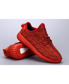 40cce585ecbae Adidas Yeezy Boost 350 Low Kanye West Red Black