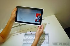 This is also a cool form factor. I'm lovin' what Windows 8 is going to do - Acer Iconia W510.