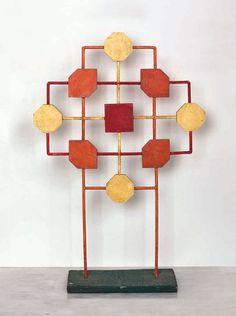 Sem título, em madeira e metal (circa 1965), também de Sandu Darie