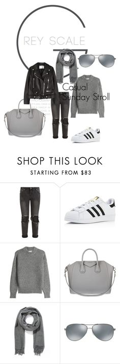 """Casual"" by gunhild on Polyvore featuring OneTeaspoon, adidas, DKNY, Givenchy, Acne Studios and Ray-Ban"